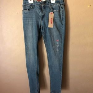 Levi's Medium Wash Super Skinny Jeans